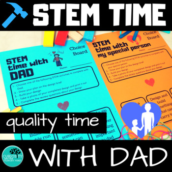 Father's Day Activities STEM time with DAD