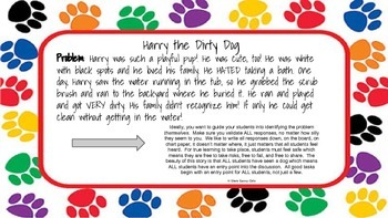 STEM Fiction Lesson with Harry the Dirty Dog