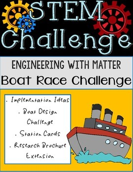 STEM with Matter and Boats