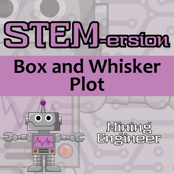 STEMersion -- Box and Whisker Plot -- Mining Engineer