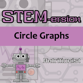 STEMersion -- Circle Graphs -- Nutritionist