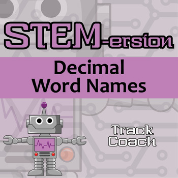 STEMersion -- Decimal Word Names -- Track Coach