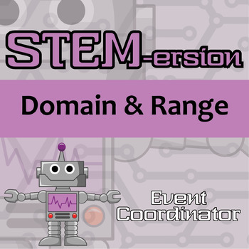 STEMersion -- Domain and Range -- Event Coordinator