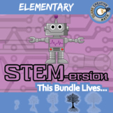 STEMersion -- ELEMENTARY CURRICULUM BUNDLE -- 64+ Math Activities!
