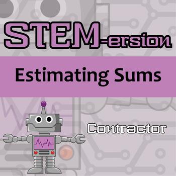 STEMersion -- Estimating Sums -- Contractor
