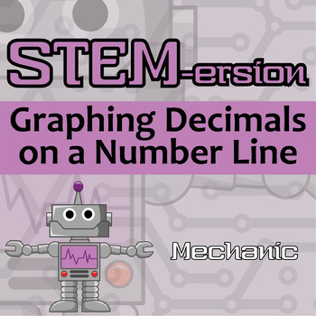 STEMersion -- Graphing Decimals on a Number Line -- Mechanic