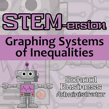 STEMersion -- Graphing Systems of Inequalities -- School Business Administrator