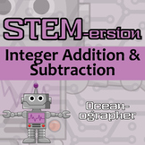 STEMersion -- Integer Addition & Subtraction -- Oceanographer