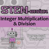 STEMersion -- Integer Multiplication & Division -- Personal Trainer