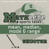 Mathlete - Mean, Median, Mode & Range - Hockey - Shooter