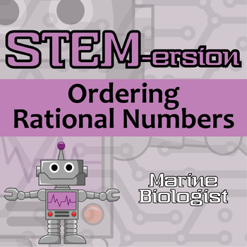 STEMersion -- Ordering Rational Numbers -- Marine Biologist