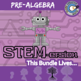 STEMersion -- PRE-ALGEBRA CURRICULUM BUNDLE -- 72+ Math Activities!