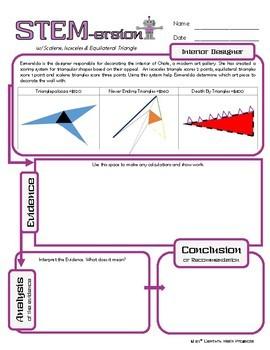 STEMersion -- Scalene, Isosceles & Equilateral Triangles -- Interior Designer