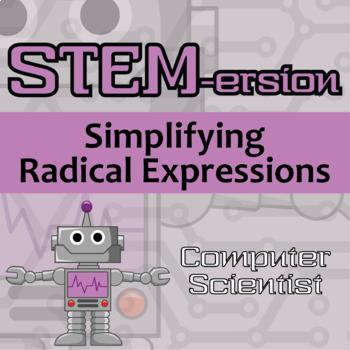 STEMersion -- Simplifying Radical Expressions -- Aerospace Engineer