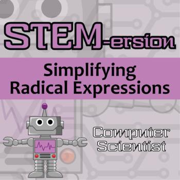 STEMersion -- Simplifying Radical Expressions -- Aerospace Engineer