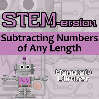 STEMersion -- Subtracting Numbers of Any Length -- Mountain Climber