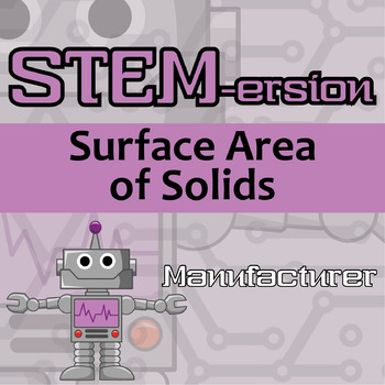 STEMersion -- Surface Area of Solids -- Manufacturer