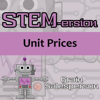 STEMersion -- Unit Prices -- Grain Salesperson
