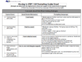 STEP 1 Guided Reading Prompting Guide
