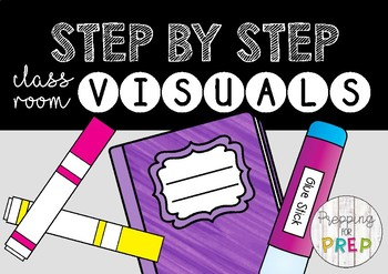 STEP BY STEP CLASSROOM VISUAL CARDS