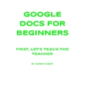 GOOGLE DOCS FOR BEGINNERS
