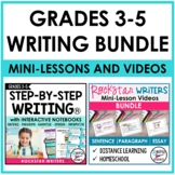 STEP-BY-STEP INTERACTIVE WRITING NOTEBOOK PROGRAM WITH MIN