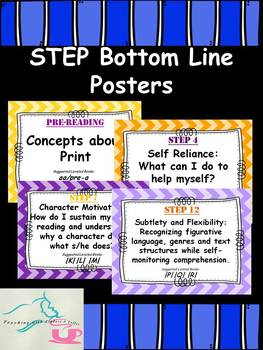 STEP Bottom Line Posters