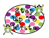 STEP UP TO WRITING POSTER DOTS - MONSTER THEME