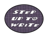STEP UP TO WRITING POSTER DOTS