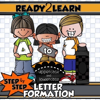 STEP by STEP CORRECT LETTER FORMATION for Uppercase and Lowercase Handwriting
