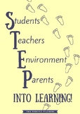 STEP into learning! Poster