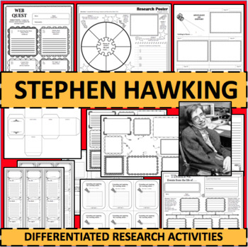 STEPHEN HAWKING Biographical Biography Research Activities DIFFERENTIATED!