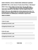 STEPS TO WRITING A SOCIAL STUDIES SHORT ANSWER ESSAY