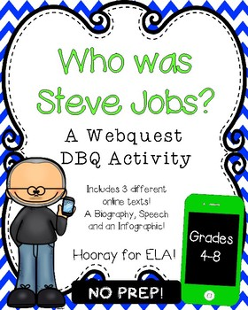 STEVE JOBS WEBQUEST DBQ