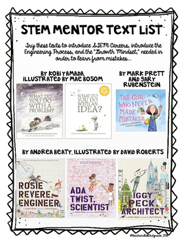STEM Mentor Text List