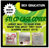 STI CD Case Cover-Sex Education Project for STI's or STD's-FUN!