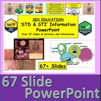 STI + STD Information PowerPoint Sex education Resource 2017