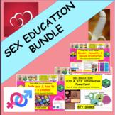 STI + STD Sexual Health Bundle of resources