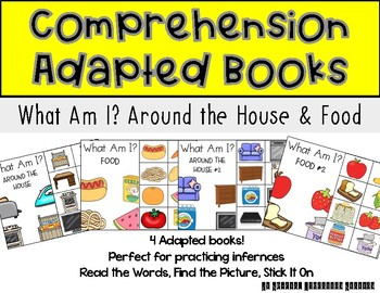 STICK IT! Food and Furniture- Comprehension Books