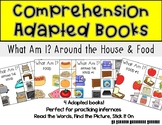 Comprehension Adapted Books- Around the House and Food