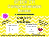 STICK IT! Sweet Hearts and Smiling Faces- Comprehension Books