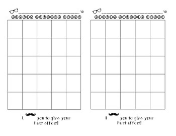 STICKER CHART TO USE FOR TEST PREP