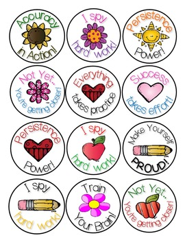 stickers  growth mindset reward and motivation stickers  tpt free classroom clipart monsters free classroom clip art images