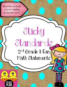STICKY MATH STANDARDS