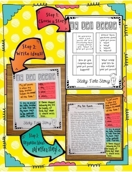 Creative Writing - Sticky Note Stories