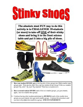 FUN FUN FUN . . .STINKY SHOES  -  CLASSIFICATION OF SHOES