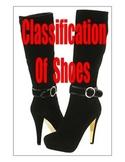 FUN FUN FUN . . .STINKY SHOES  -  CLASSIFICATION OF SHOES
