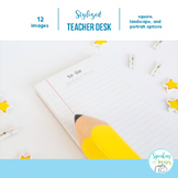 STOCK IMAGES: Teacher Desktop images for Resource Covers o