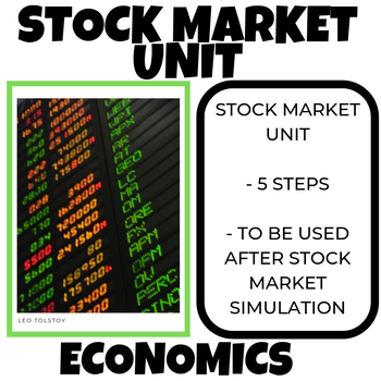STOCK MARKET UNIT