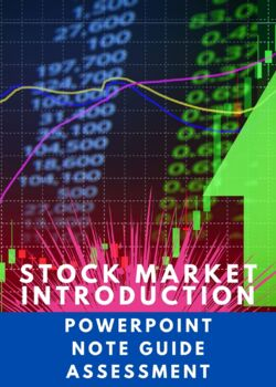 STOCK MARKET VOCABULARY A-Z WITH 2 QUIZZES